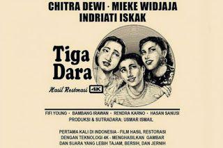 Gambar dari www.kompasiana.com/planetkenthir.     Berbicara tentang restorasi film Tiga Dara-fi...
