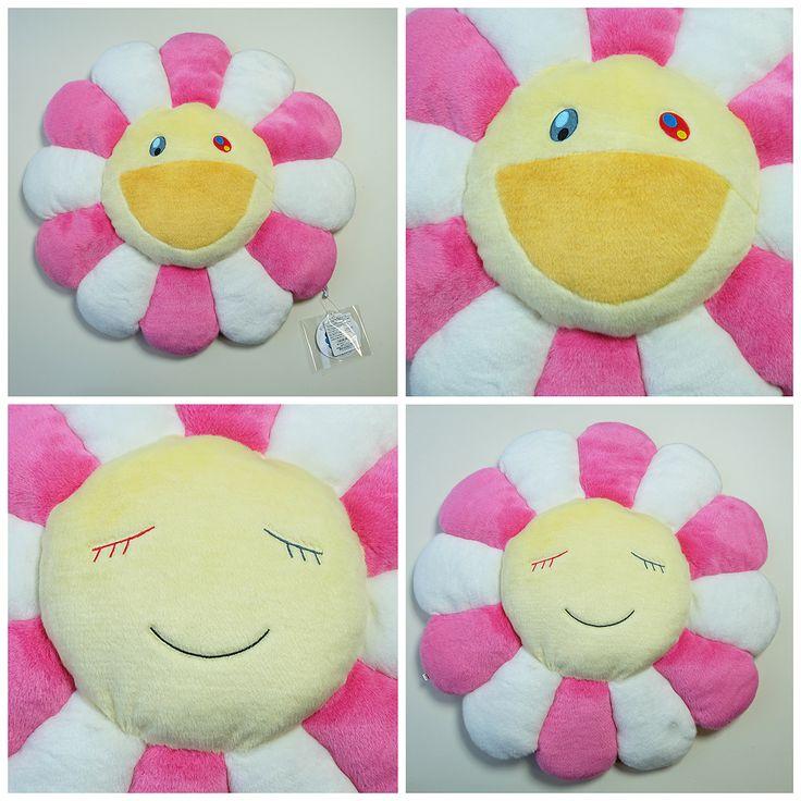 Kawaii kaikaikiki takashi murakami flower pillow cushion