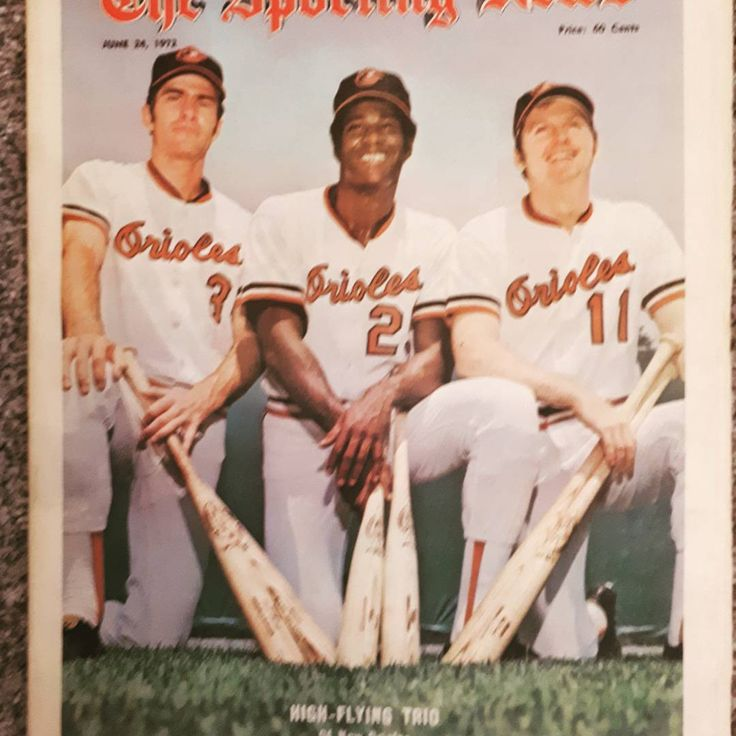 Amazon g trio of Orioles from the 1970s. If you are interested in acquiring this OR browsing for other great nostalgic Sporting News issues check out my online store.  Etsy.sportscollectibleca.com  Have a look #mlb #orioles #baltimore #nostalgia #sportingnews #baseball #baseball