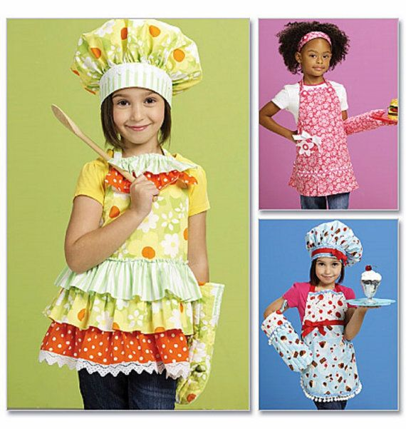 Childs Apron Pattern Childs Chef Hat Pattern Childs by blue510