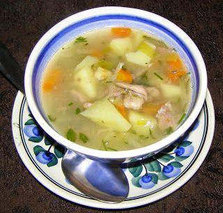 W Mojej Kuchni Lubię.. : szybkowar-zupa ogórkowa na indyczym mięsie...