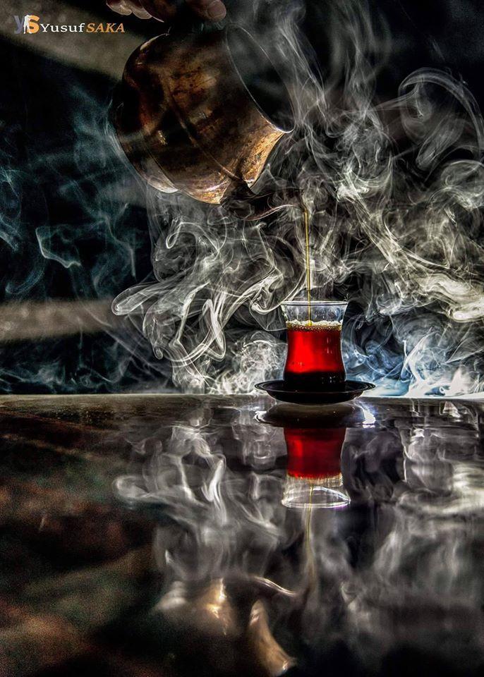 """Ne güzel demiş şair; """"Geleydin bir çay içimi Sen 'çay' dökerdin, Ben de 'içimi'""""..."""