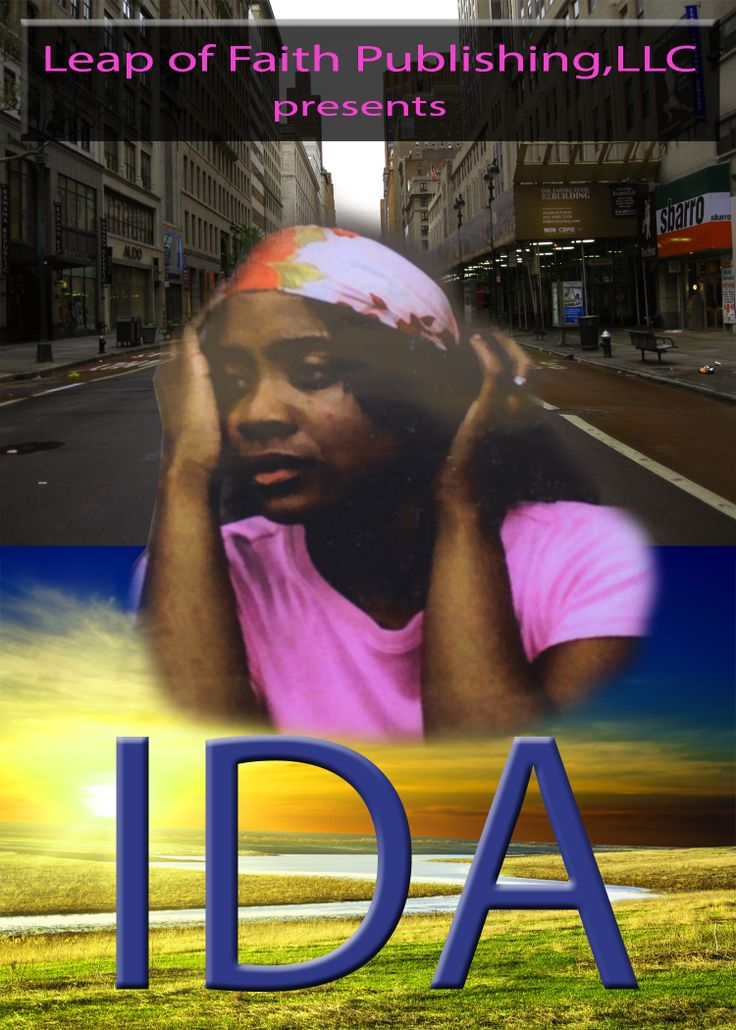 """Flyer from the second production of """"Ida"""" The Stage Play! It represents Ida's dramatic struggles from South Carolina to big city, New York......"""