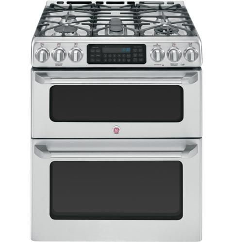 Finally found the oven I want in the new kitchen- double oven (small oven on top)  with no back on the top ...yay!