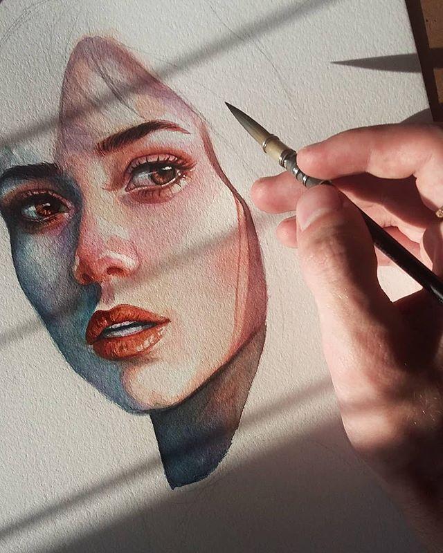 #Portraits paint