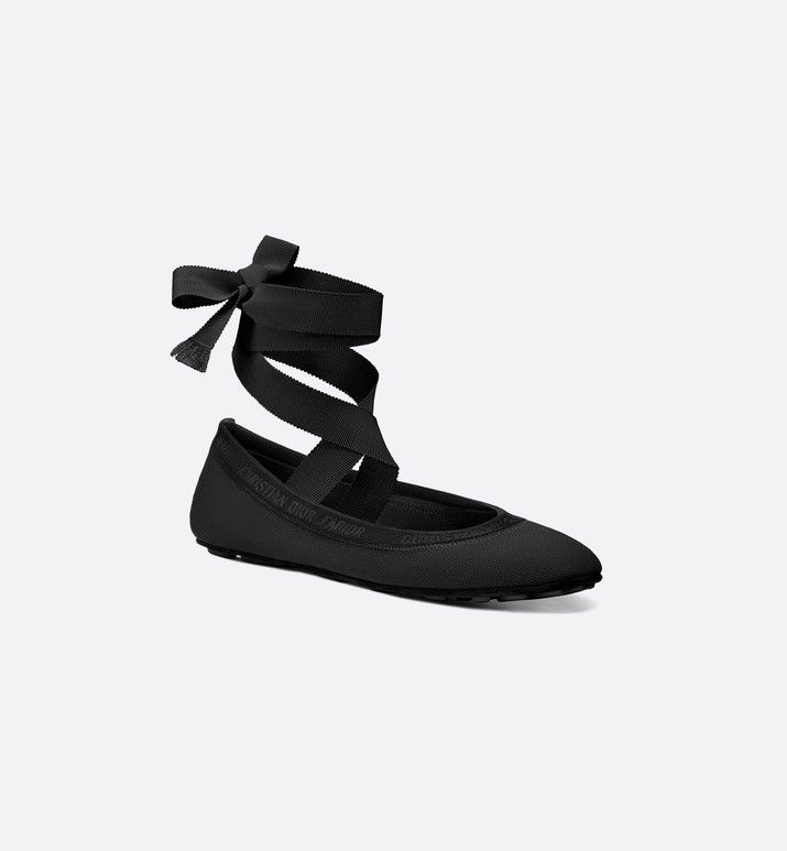 Dior Academy Lace-Up Ballerina - Shoes
