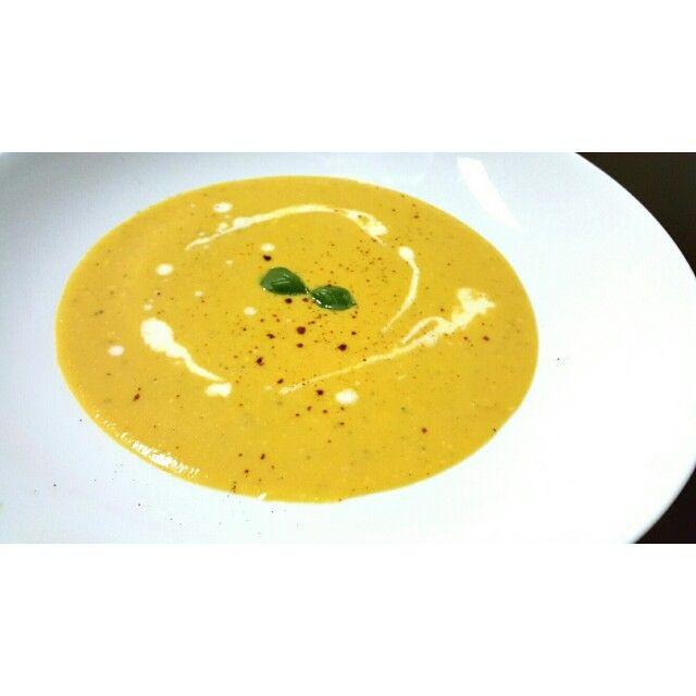 Classic Pumpkin Soup #homecooking