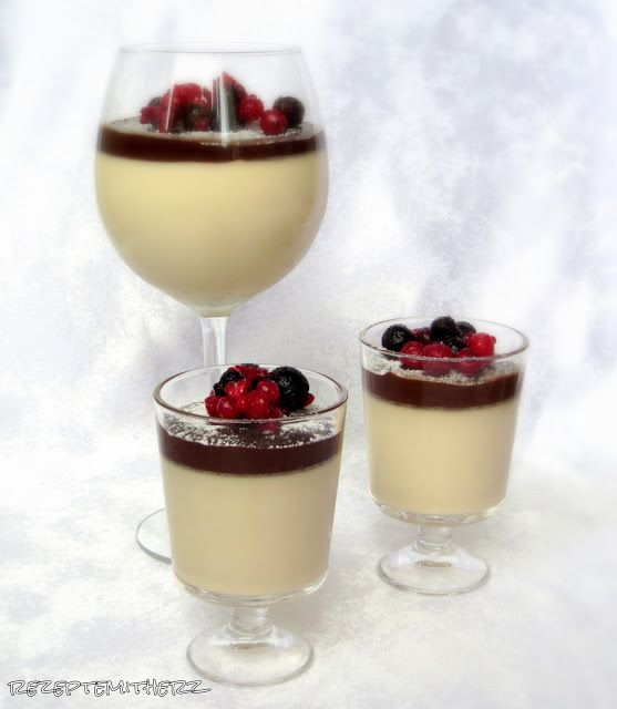 Rezepte mit Herz ♥: Baileys Pannacotta