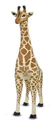 Giraffe Stuffed Animal | Giant Giraffe | Melissa and Doug Plush Giraffe | Stuffed Animals