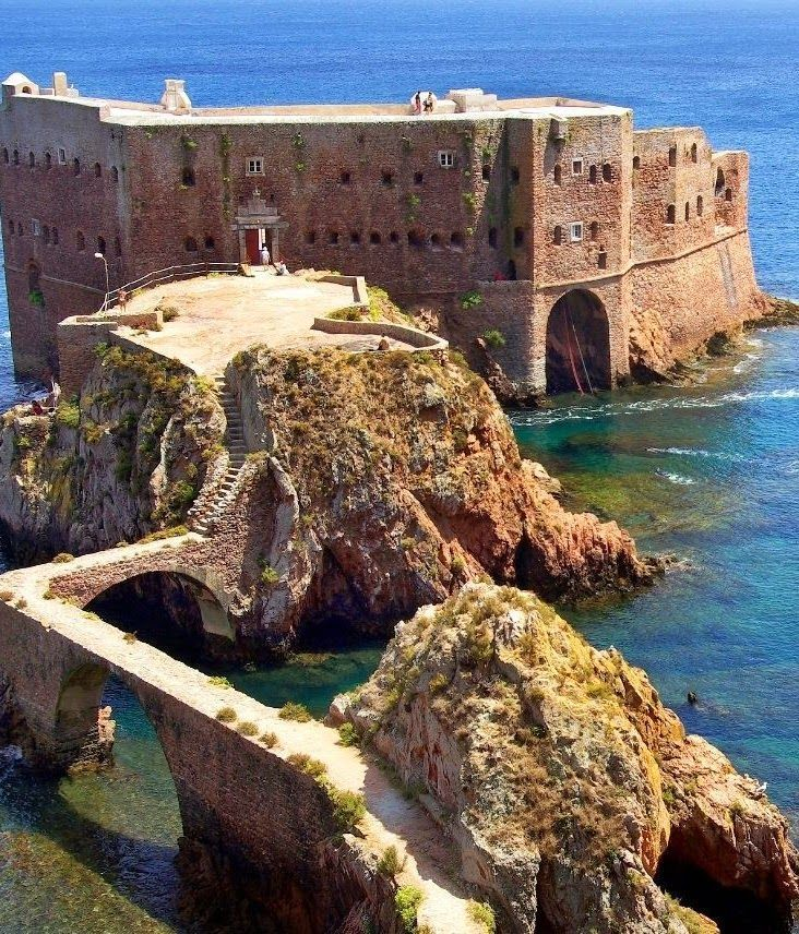 the Fort of the Berlengas, , Peniche, Portugal