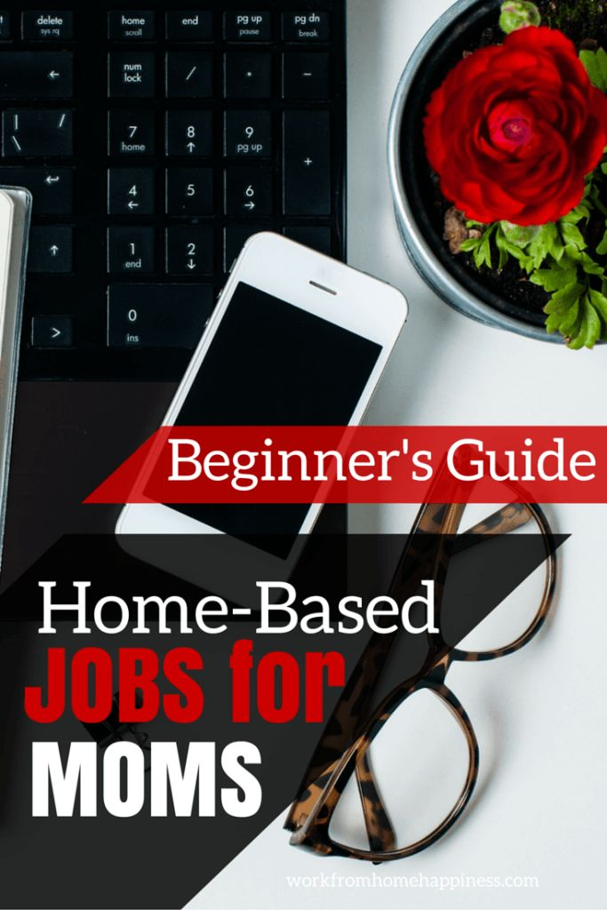 This complete beginner's guide to home-based jobs for moms will help you find the perfect work from home job that is right for you -- from where to find legitimate leads to what jobs are really out there, this guide has got you covered if you want to become a work at home mom!