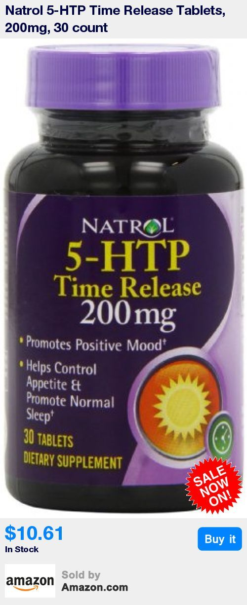 5-HTP is a plant derived source of amino acids that help naturally increase the level of Serotonin in your body * Serotonin is a chemical messenger that effects mood, appetite and potentially how you sleep. It is not significantly present in the typical daily diet * 5-HTP is drug free and non-habit forming * Natrol's Time Release Formula offers a controlled delivery of 5-HTP steadily over a period of 10 hours * Regular use of 5-HTP helps you maintain a positive, healthy outlook and promotes