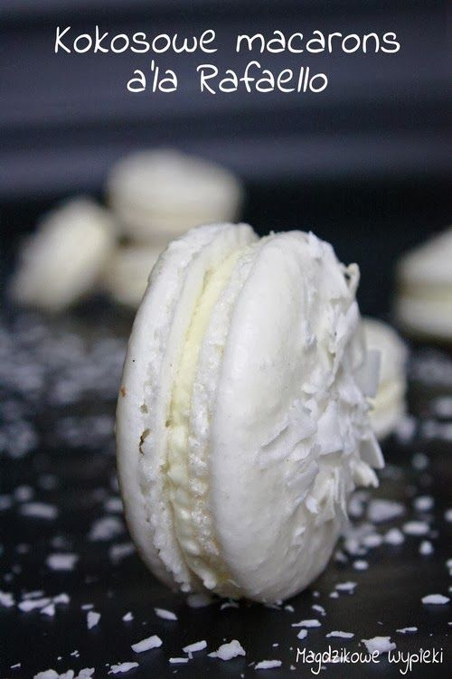Kokosowe macarons