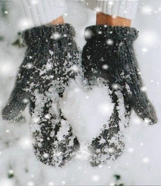 ♥ of snow.