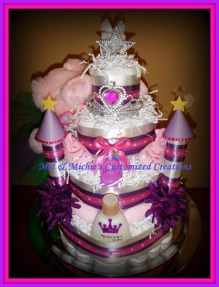 Fit for a princess..Diaper Castle
