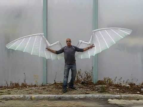 fc4c0be4b Mechanical wings by Liad Gordon - YouTube | Wings | Cosplay wings, Human  wings, Robot costumes