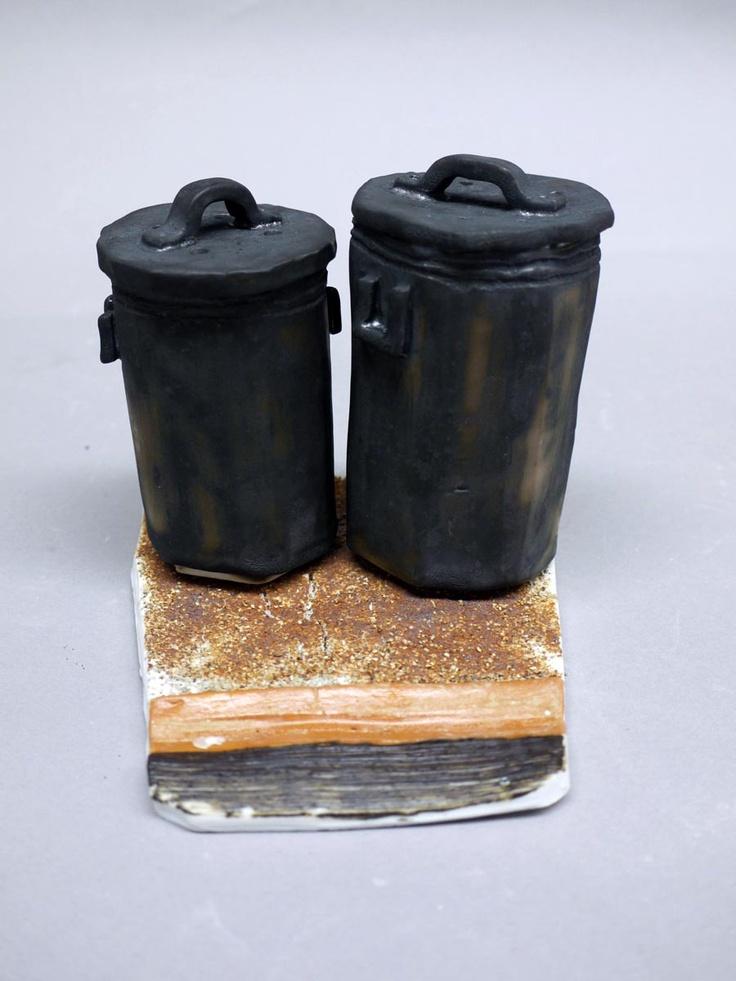 Superior Trash Can Salt U0026 Pepper Set. 3783 Class 2012.