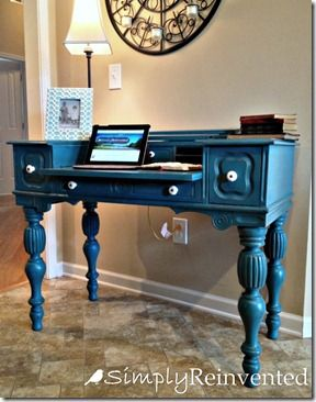 chalk painted desk ideas home interior designer today