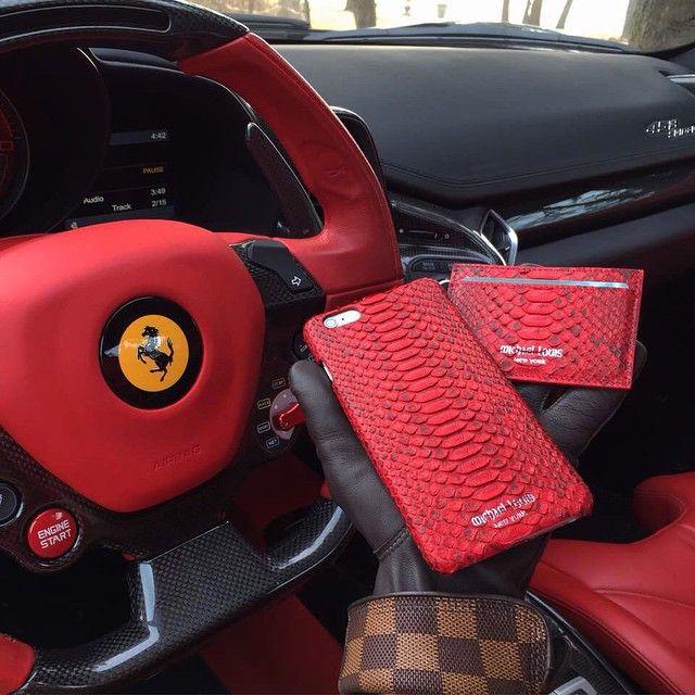 ... Louisvuitton Carinterior. Michael Louis X Ferrari Vuitton  Worldwideluxury Wwl