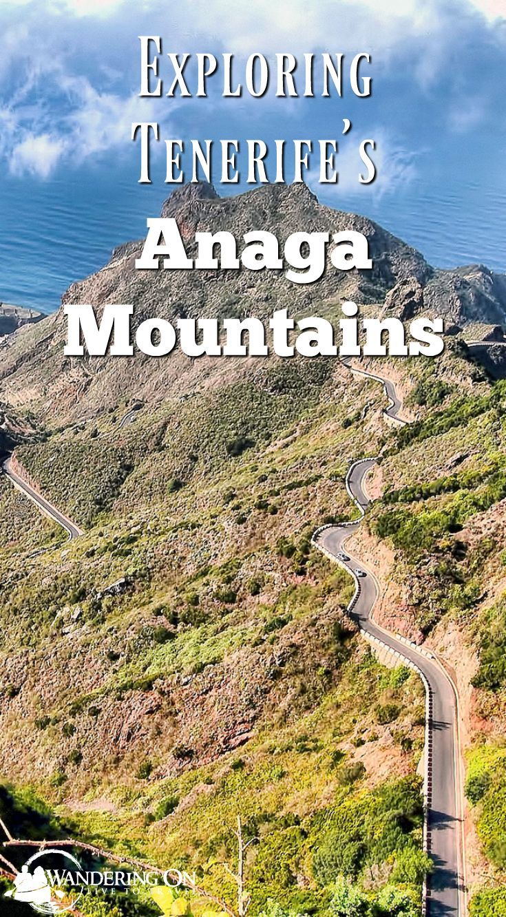Tenerife, Spain offers the usual Canary Islands holiday of beautiful beaches, bars & sunloungers. But for those looking for a little more adventure out of their holiday, there's the Anaga mountains on Tenerife's Anaga Peninsula. Road trips, hiking, incredible Atlantic views and traditional villages await! #spain #Canaryislands #island #adventure #mountain #guide #hiking #roadtrip