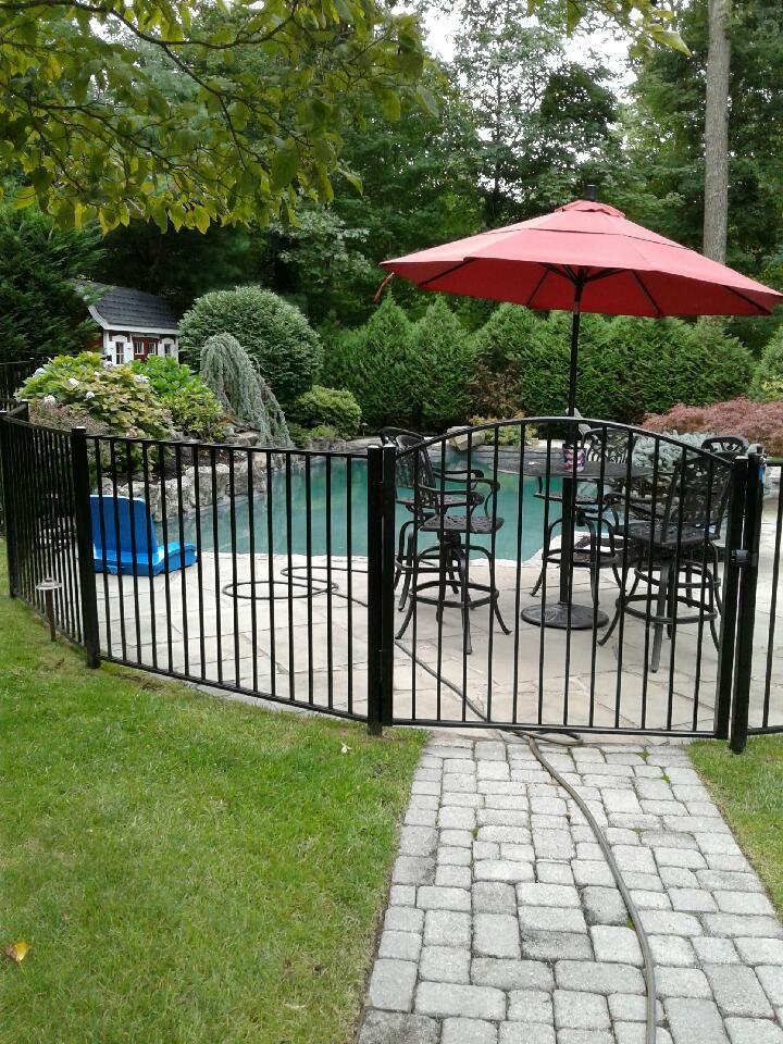 Beautiful Ornamental Aluminum Pool Fence Gate Aluminum Pool Fence Pool Fencing Landscaping Pool Fence