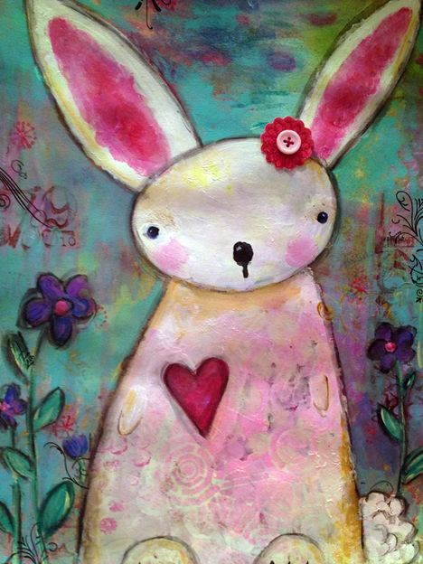 Whimsical Owls and Other Mixed Media Art From the Heart by Juliette Crane: New Artwork from the Class Galleries