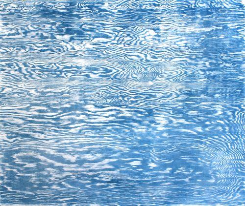 Tidal Pools, Woodcut, 36in x 43in