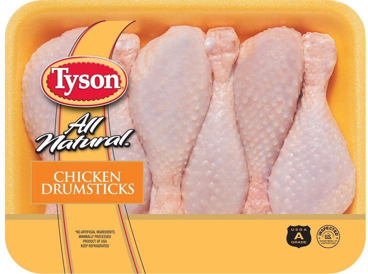 For a fun meal try tyson chicken drumsticks fry them up