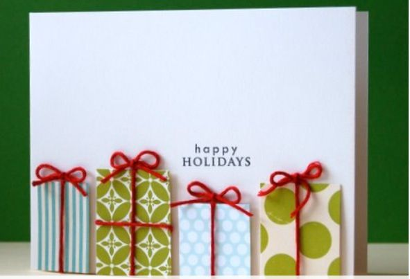 Christmas #DIY hand made cards could be fun...