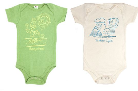 Hip onesies put science on display for brainy babies! | Inhabitots