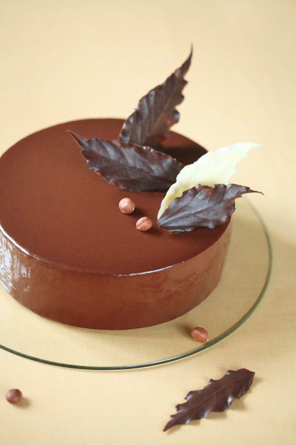 Verdade de sabor: Cake with chocolate mousse and hazelnut / Torta mousse de chocolate e avelã