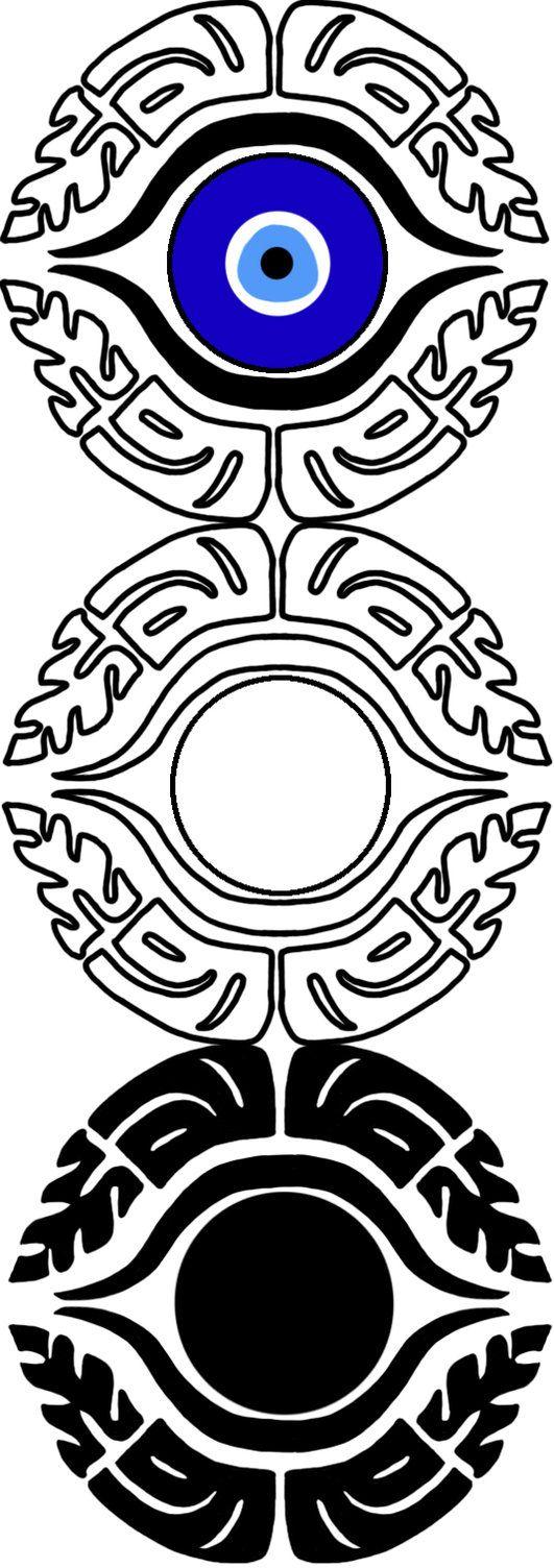 Tattoo Design- Evil Eye by uncannyphantom