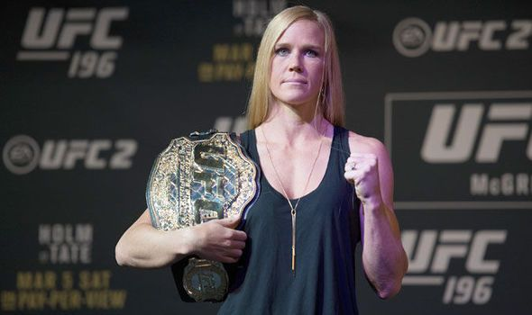 UFC 196: Holly Holm ready to throw down with Miesha Tate to defend her title in Las Vegas