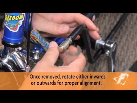 Rear Steer (Tie-Rod) Adjustment Video for Freedom Concepts Adaptive Tricycles