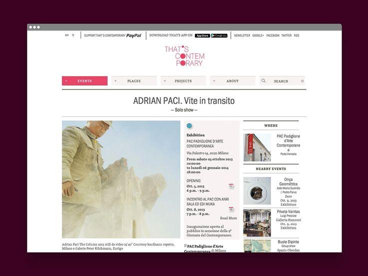 That's Contemporary - Andrea Amato - tipiblu.com