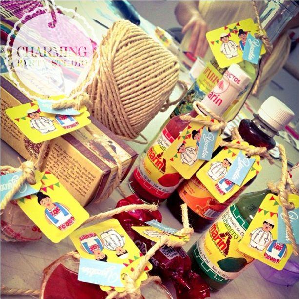 Los kits de bienvenida a la yucateca son ideales para las boda cuando tus invitados vienen de fuera!
