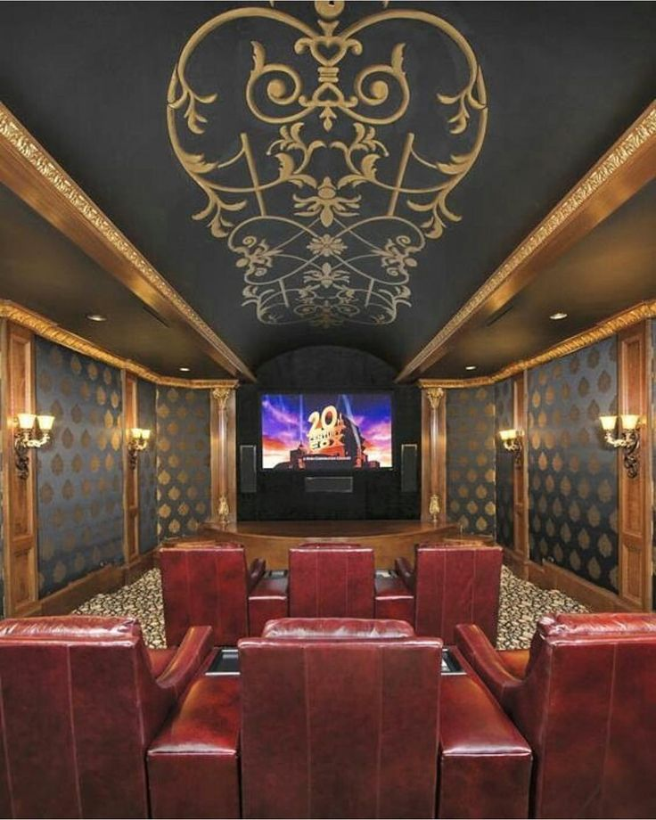 21 Incredible Home Theater Design Ideas Decor Pictures: Amazing Home Theatre 😍 Follow @lux.toys
