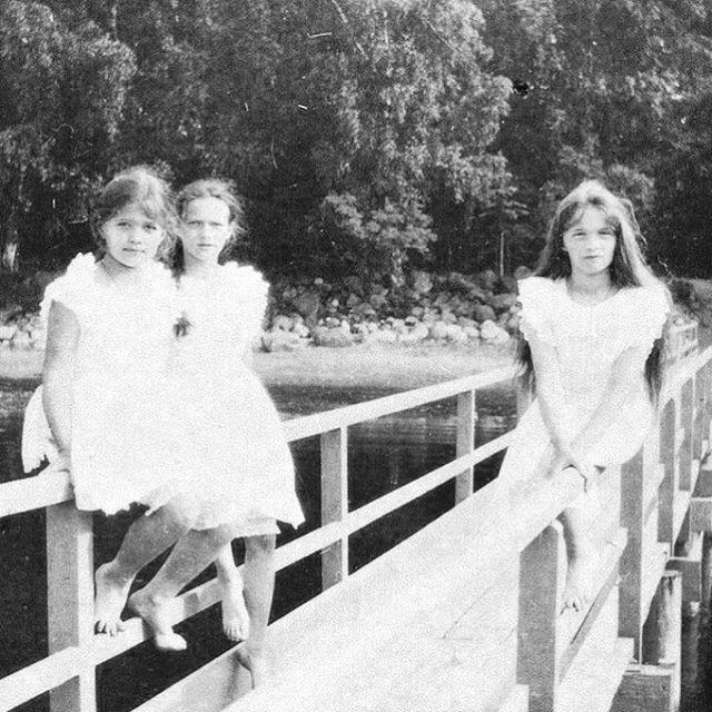 Grand Duchesses Maria, Tatiana and Olga