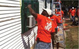 The Home Depot Foundation is committed to ensuring that every veteran has a safe place to call home — not just through financial donations, but also through the dedication and hands-on service of our store associates.