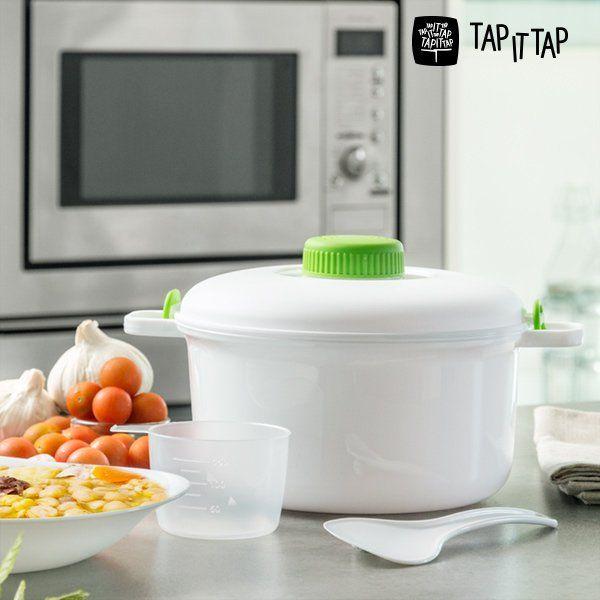 Pentola a Pressione per Microonde Tap It Tap