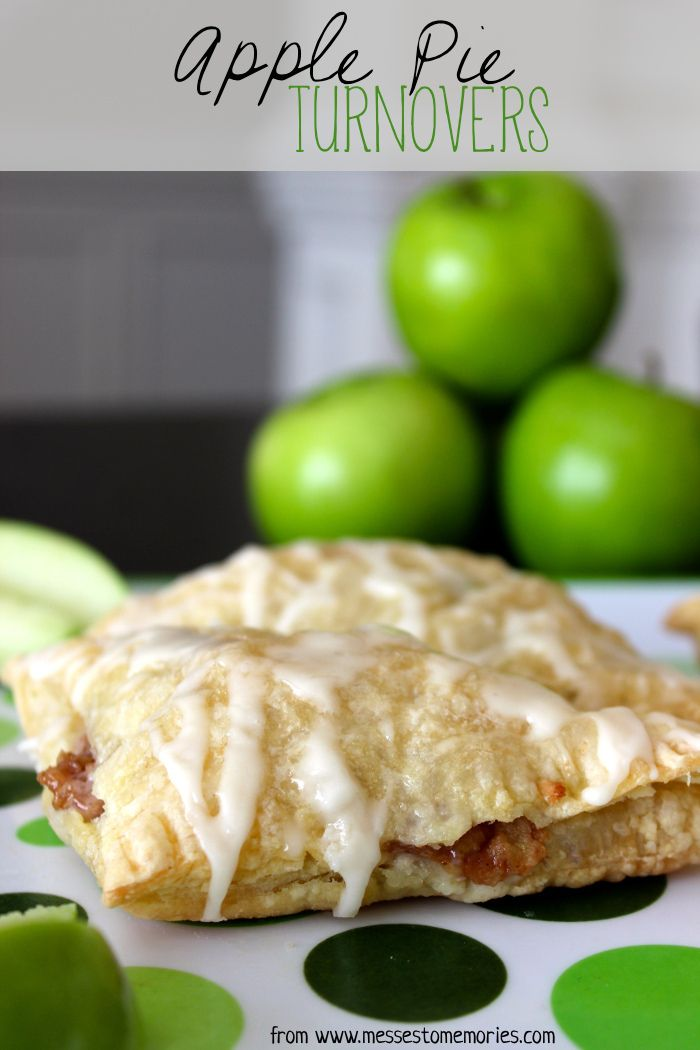 ... delicious, quick and easy apple pie turnovers from Messes to Memories