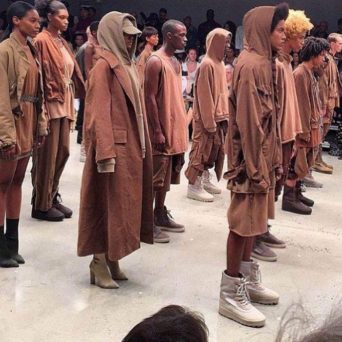 The First Instagrams From Kanye West S Yeezy Season 2 Show Are Here Kanye West Style Kanye West Clothing Line Kanye West Outfits