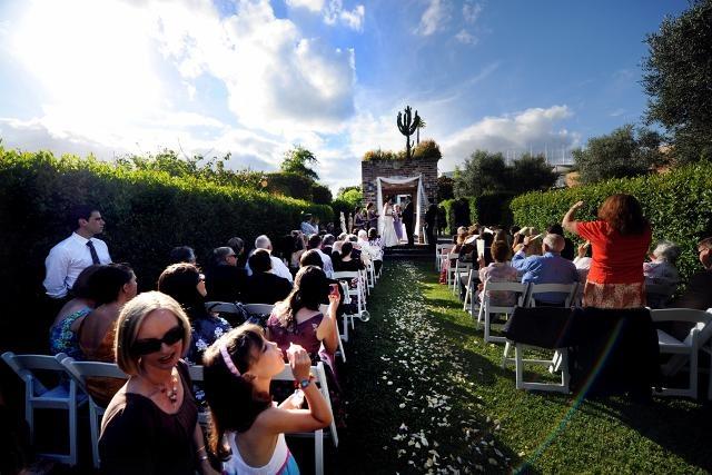 Real wedding at Eden Gardens (Display Gardens), North Ryde