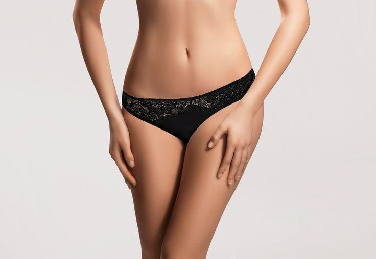 ARWENA black #lingerie #black #lace #intimate #sexy #koronka #bielizna #panties #figi