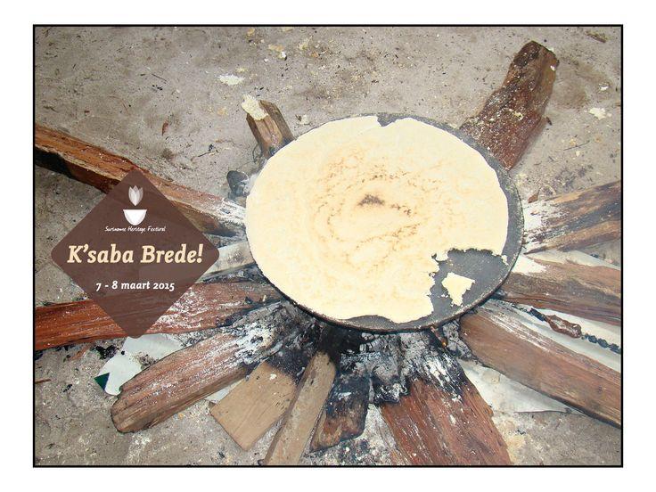 Exotic Food #Cassava Bread @ Suriname Heritage Festival