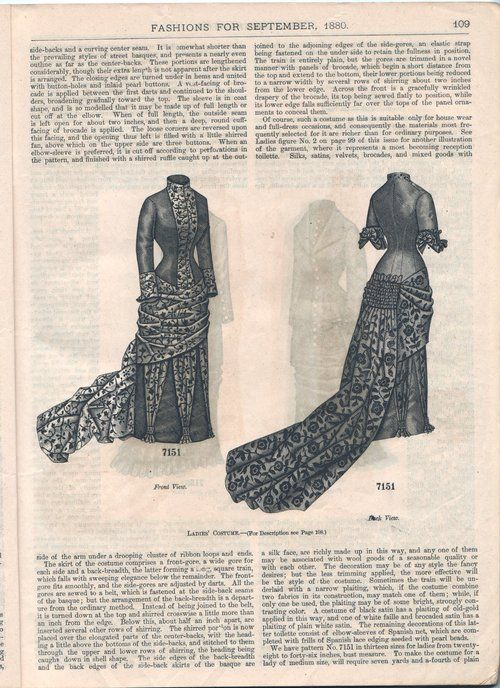 House dress, Sep 1880 US, The Delineator