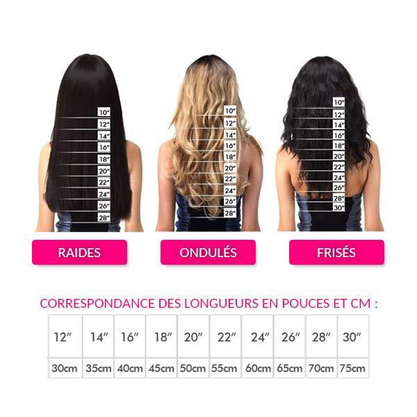 24 Longueur Cheveux Pouces Technique