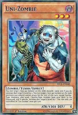 Original Konami YuGiOh Trading Card aus Secrets of Eternity.  SECE-EN040  Uni-Zombie (Zombie des Gleichklangs) Seltenheit: Common - 1st Edition  GBA-Code: 49959355 | Jetzt günstig bei eBay kaufen!