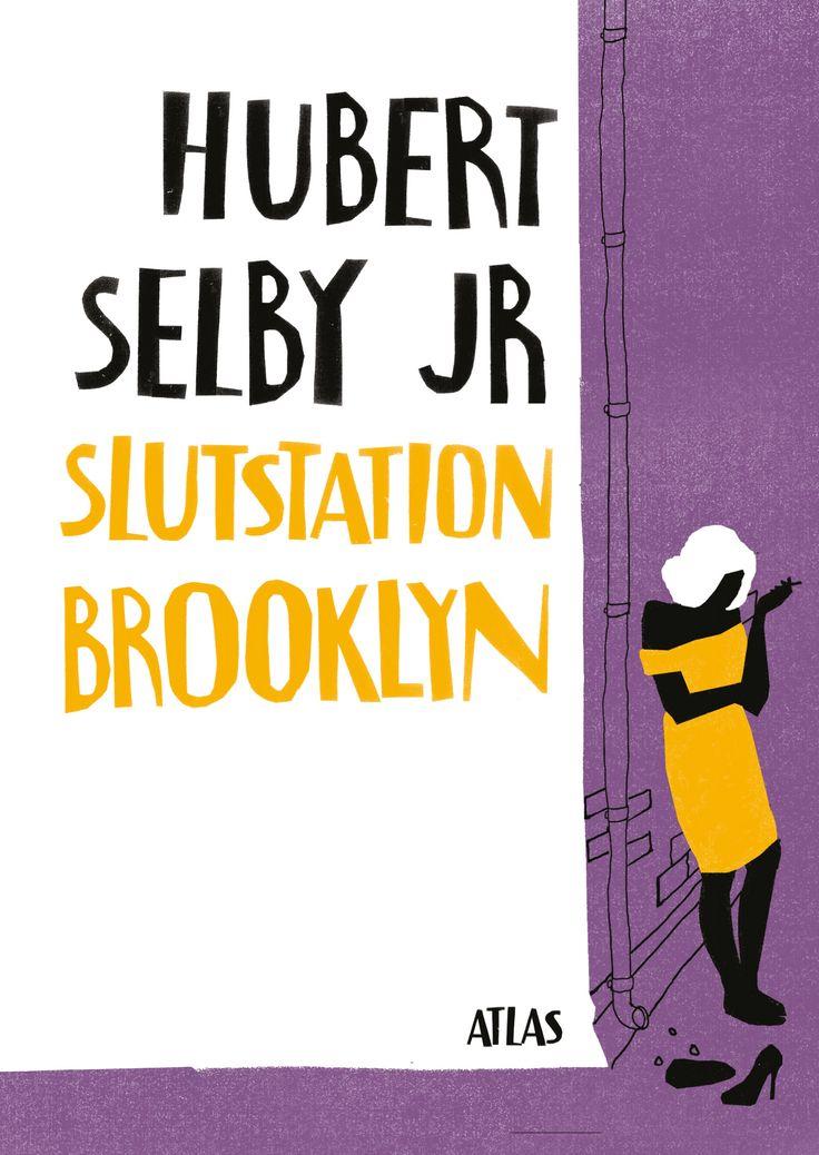 Omslagsillustration samt layout till nyutgåvan av Slutstation Brooklyn på Atlas förlag.