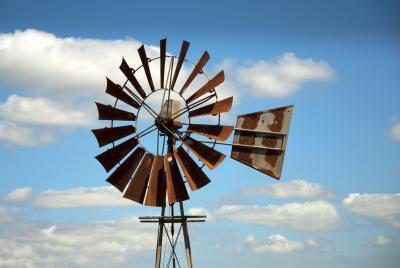 Using sheet metal, wood dowels, paint, a few fasteners and simple hand tools, you can make a lightweight, durable windmill to add a touch of country whimsy to your lawn or garden. Assembled, this windmill reaches 4 feet tall -- you can scale the design up or down to suit your preference. The windmill will serve as a weather vane, pivoting to face...